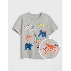 Gap 幼児グラフィック半袖シャツ