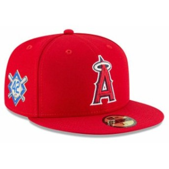 New Era ニュー エラ スポーツ用品 New Era Los Angeles Angels Red 2018 Jackie Robinson Day 59FIFTY Fitted Hat