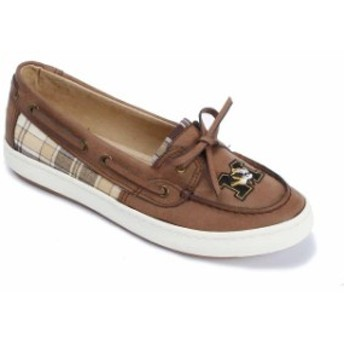 Renaissance ルネサンス スポーツ用品 Missouri Tigers Womens Brown Westend One Eye Moccasins