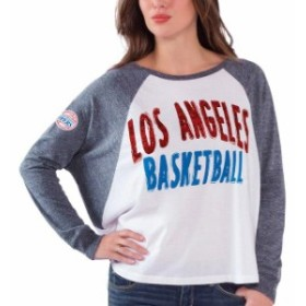 G-III 4Her by Carl Banks ジースリー フォーハー バイ カール バンクス スポーツ用品  LA Clippers Womens Wh