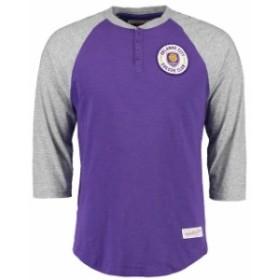 Mitchell & Ness ミッチェル アンド ネス スポーツ用品  Mitchell & Ness Orlando City SC Purple/Gray Unbeaten Henley
