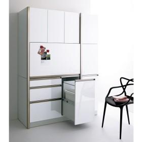AQUA/アクア カップボード・食器棚 幅40cmホワイト