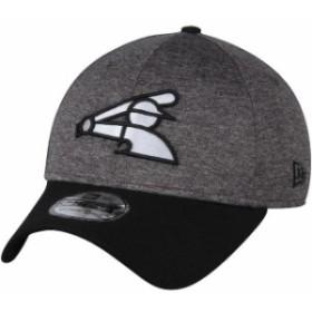 New Era ニュー エラ スポーツ用品  New Era Chicago White Sox Adult Heathered Gray/Black 39THIRTY Shadow Tech Flex Hat