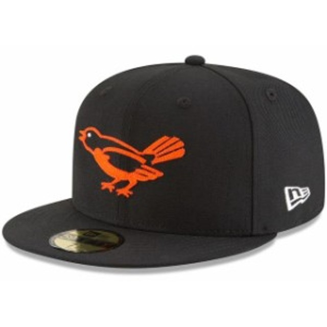 New Era ニュー エラ スポーツ用品  New Era Baltimore Orioles Black Cooperstown Inaugural Season 59FIFTY Fitted Hat