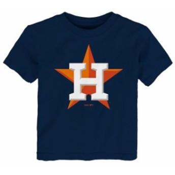 Outerstuff アウタースタッフ スポーツ用品 Houston Astros Toddler Navy Primary Logo T-Shirt