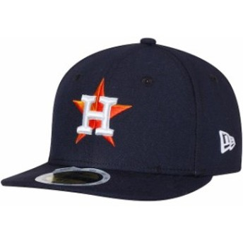 New Era ニュー エラ スポーツ用品 New Era Houston Astros Youth Navy Authentic Collection On-Field Home 59FIFTY Fitted