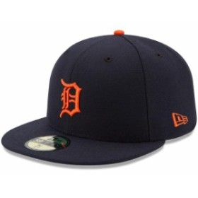 New Era ニュー エラ スポーツ用品  New Era Detroit Tigers Youth Navy Authentic Collection On-Field Road 59FIFTY Fitted