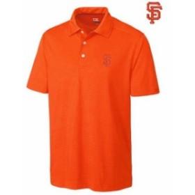Cutter & Buck カッター アンド バック シャツ ポロシャツ Cutter & Buck San Francisco Giants Orange Medina Tonal