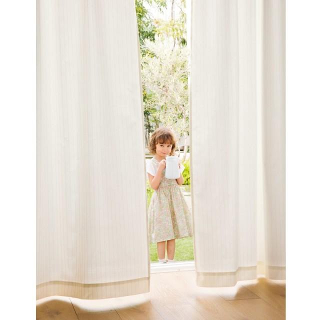 幅100×丈228cm(2枚組)(UVプロテクトレースカーテン)