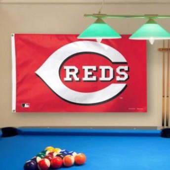 WinCraft ウィンクラフト スポーツ用品 WinCraft Cincinnati Reds Deluxe 3 x 5 Flag