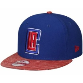 New Era ニュー エラ スポーツ用品  New Era LA Clippers Royal/Red Current Logo Team Solid 9FIFTY Snapback Adjustable Ha