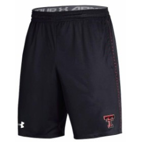 Under Armour アンダー アーマー スポーツ用品  Under Armour Texas Tech Red Raiders Black Woven Performance Training