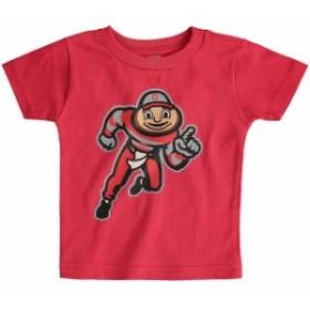 Two Feet Ahead トゥー フィート アヘッド スポーツ用品  Ohio State Buckeyes Infant Scarlet Big Logo T-Shirt