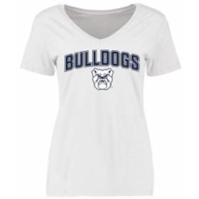 Fanatics Branded ファナティクス ブランド スポーツ用品  Butler Bulldogs Womens White Proud Mascot T-Shirt -