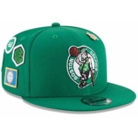 New Era ニュー エラ スポーツ用品  New Era Boston Celtics Youth Kelly Green 2018 NBA Draft 9FIFTY Adjustable Hat
