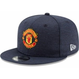 New Era ニュー エラ スポーツ用品  New Era Manchester United Heathered Navy Shadow Tech 9FIFTY Snapback Hat