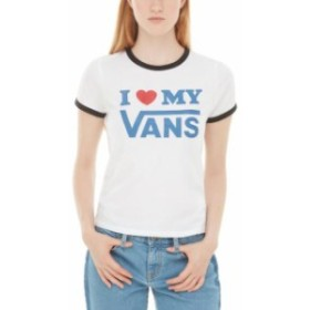 vans バン ファッション 女性用ウェア Tシャツ vans love-ringer