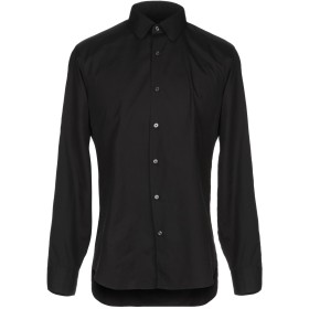 《送料無料》XACUS メンズ シャツ ブラック 41 コットン 100%