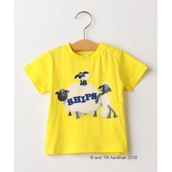 シップス キッズ SHIPS KIDS:<MAYHEM IN THE MEADOW!>Tシャツ(80~90cm) レディース イエロー 90 【SHIPS KIDS】
