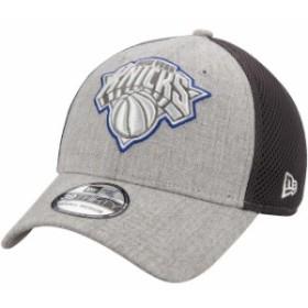 New Era ニュー エラ スポーツ用品  New Era New York Knicks Heathered Gray Heathered Neo Pop 39THIRTY Flex Hat
