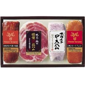 <マイスター山野井>炭焼きみそ漬け焼豚と合鴨セットYE-40 ハム・焼豚・精肉・肉加工品