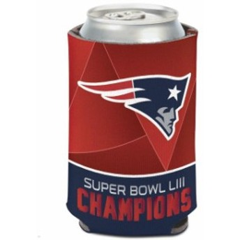 WinCraft ウィンクラフト スポーツ用品 WinCraft New England Patriots Super Bowl LIII Champions 12oz. Can Cooler