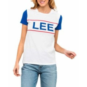 lee リー ファッション 女性用ウェア Tシャツ lee colorblock