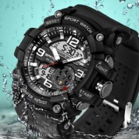 8ff51aceb1 SANDA 759 スポーツ メンズ 時計 Top ブランド Luxury ミリタリー クオーツ Watch 防水 S