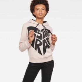 gstar ジースター ファッション 女性用ウェア パーカー gstar graphic-50-xzula-hooded