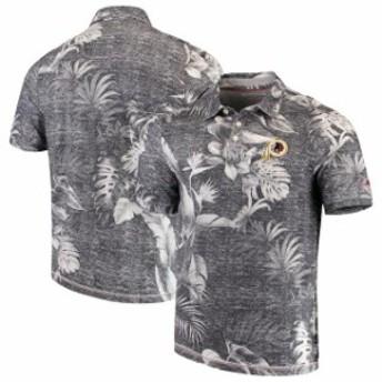 Tommy Bahama トミー バハマ シャツ ポロシャツ Tommy Bahama Washington Redskins Black Parque Polo