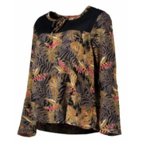 roxy ロキシー ファッション 女性用ウェア ブラウスやシャツ roxy bubble-spirit-printed