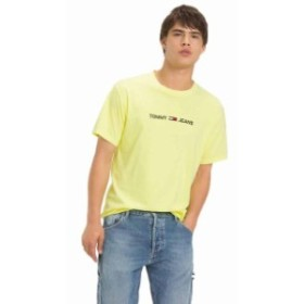 tommy-jeans トミー ジーンズ ファッション 男性用ウェア Tシャツ tommy-hilfiger small-text