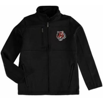 Outerstuff アウタースタッフ スポーツ用品 Cincinnati Bengals Youth Black Helix Bonded Full-Zip Fleece Jacket