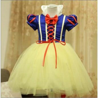 ハロウィン衣装 プレゼント 子供 白雪姫 衣装 子供 ドレス 子供服 女の子 ドレス子供 白雪姫ドレス プレゼント 子どもドレス コスチューム コスプレ 白雪姫 HALLOWEENワンピースディズニー