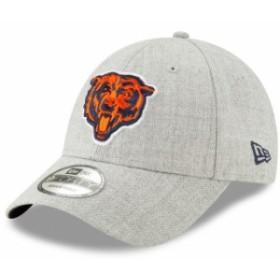 New Era ニュー エラ スポーツ用品  New Era Chicago Bears Heathered Gray Snapped 9FORTY Adjustable Hat
