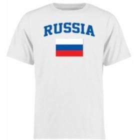 Fanatics Branded ファナティクス ブランド スポーツ用品  Russia White Flag T-Shirt