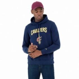 new-era ニュー エラ ファッション 男性用ウェア パーカー new-era team-logo-po-hoody-cleveland-cavaliers