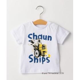 シップス キッズ SHIPS KIDS:<MAYHEM IN THE MEADOW!>Tシャツ(80~90cm) レディース ホワイト 80 【SHIPS KIDS】