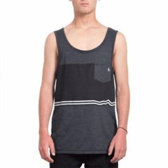 volcom ボルコム ファッション 男性用ウェア Tシャツ volcom 3-quarter-heather