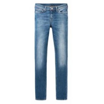 lee リー ファッション 女性用ウェア ズボン lee elly-high-waist-slim-l35