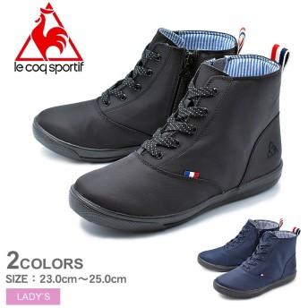 LE COQ SPORTIF ルコック スニーカー テルナブーツ SK MID 2 QL3NJD00 レディース 靴