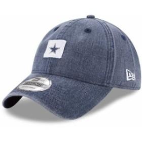 New Era ニュー エラ スポーツ用品  New Era Dallas Cowboys Navy Stamped 9TWENTY Adjustable Hat
