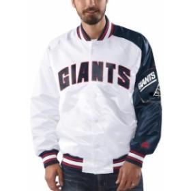 Starter スターター アウターウェア ジャケット/アウター Starter New York Giants White Start of Season Retro S