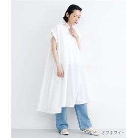 メルロー スキッパーカラーコットンワンピース レディース オフホワイト FREE 【merlot】