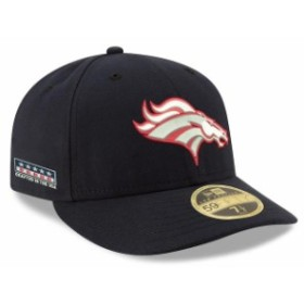 New Era ニュー エラ スポーツ用品  New Era Denver Broncos Navy Crafted in the USA Low Profile 59FIFTY Fitted Hat