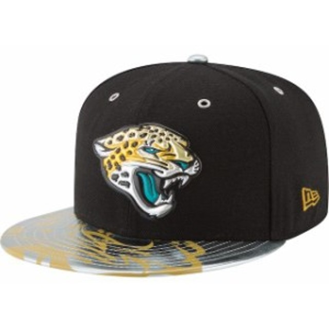 New Era ニュー エラ スポーツ用品  New Era Jacksonville Jaguars Black NFL Spotlight 59FIFTY Fitted Hat