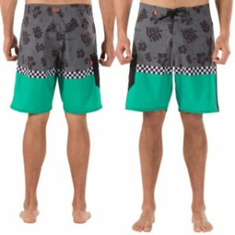 Vans バンズ スポーツ用品 Vans 4-Way Stretch Off the Wall Boardshort - Green