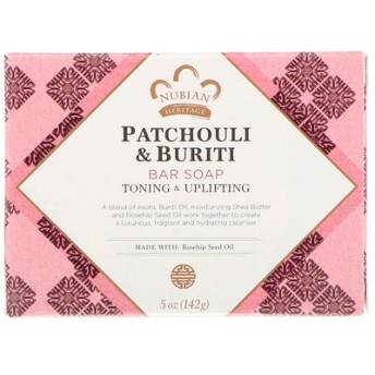 Patchouli & Buriti Soap , 5 oz / 141 g