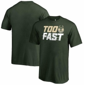 Fanatics Branded ファナティクス ブランド スポーツ用品 Fanatics Branded Milwaukee Bucks Youth Hunter Green Too