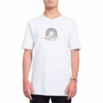 volcom ボルコム ファッション 男性用ウェア Tシャツ volcom ozzy-rainbow-bsc